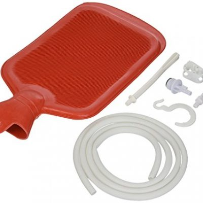 MABIS-Enema-Douche-Medical-Enema-with-Hot-Water-Bottle-Reusable-Red-0