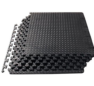 ProSource-Puzzle-Exercise-Mat-EVA-Foam-Interlocking-Tiles-Protective-Flooring-for-Gym-Equipment-and-Cushion-for-Workouts-0