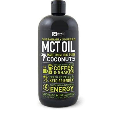 Premium-MCT-Oil-derived-only-from-Organic-Coconuts-32oz-BPA-free-bottle-The-only-MCT-oil-certified-Paleo-Safe-and-registered-by-the-Vegan-Society-Non-GMO-and-Gluten-Free-0