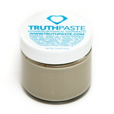 TruthPaste-Natural-Toothpaste-Flouride-Free-Ayurvedic-Toothpaste-made-with-Organic-Oils-Natural-Calcium-Montmorillonite-Essential-Oils-2oz-60ml-0