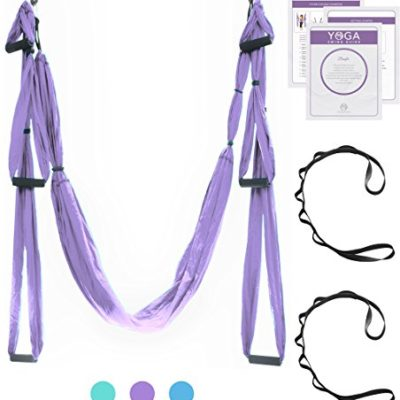 UPCIRCLESEVEN-Aerial-Yoga-Swing-Official-Antigravity-Yoga-HammockTrapezeSlingInversion-Tool-for-BACK-PAIN-relief-2-Hanging-Straps-Beginner-PDF-Guide-Included-0